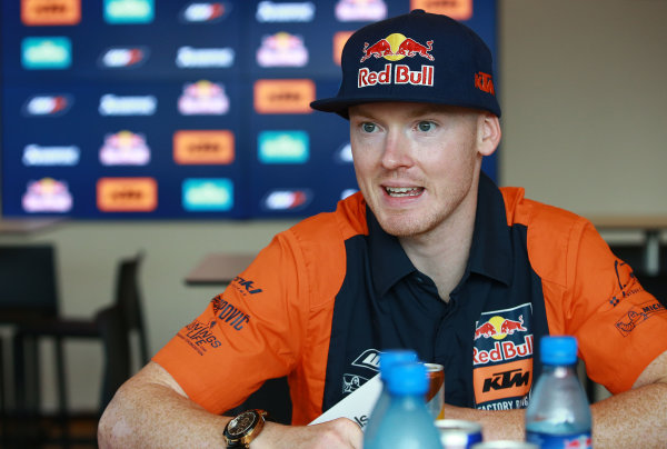 2017 MotoGP Championship - Round 13 Misano, Italy. Thursday 7 September 2017 Bradley Smith, Red Bull KTM Factory Racing World Copyright: Gold and Goose / LAT Images ref: Digital Image 690232