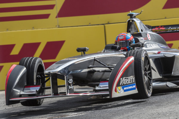 Loic Duval (FRA) - Dragon Racing at Formula E Championship, Rd9, Moscow, Russia, 4-6 June 2015.