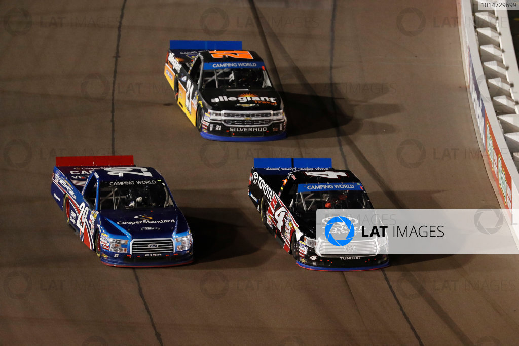 12 November, 2016, Avondale, Arizona,  USA Tyler Reddick, Christopher Bell, Johnny Sauter ?2016, Michael L. Levitt LAT Photo USA