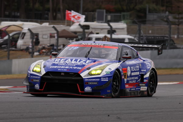 Kiyoto Fujinami & Joao Paulo de Oliveira ( #56 Realize Nissan Automobile Technical College GT-R ), 2nd position in GT300