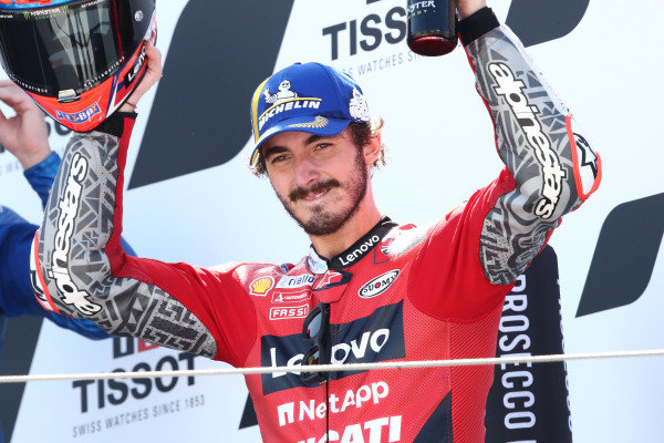 Francesco Bagnaia, Ducati Team MotoGP.