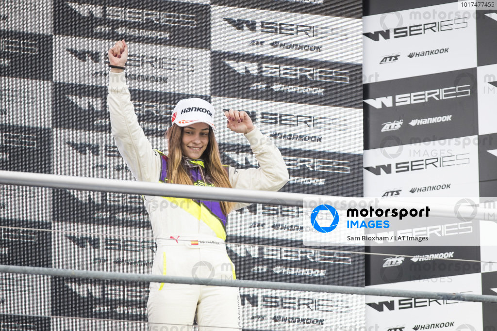 Marta Garcia (ESP) on the podium