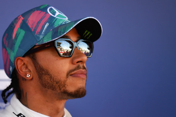 Front row starter Lewis Hamilton, Mercedes AMG F1