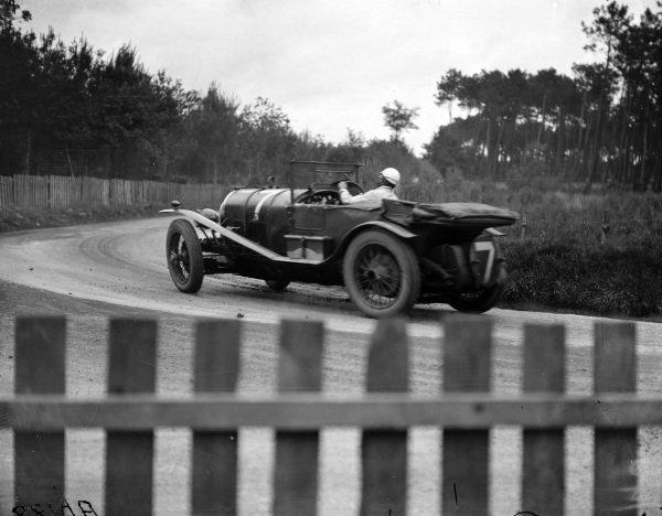 Sammy Davis / Dudley Benjafield, Bentley Motors Ltd, Bentley 3 Litre Speed.