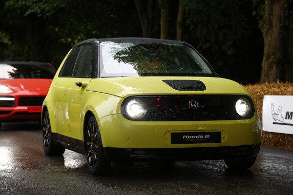 Alexander Albon, Honda E