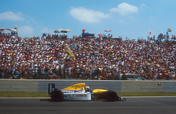 1993 French Grand Prix.Magny-Cours, France.2-4 July 1993.Alain Prost (Williams FW15C Renault) 1st position.Ref-93 FRA 07.World Copyright - LAT Photographic