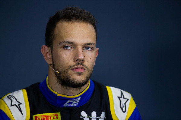 HUNGARORING, HUNGARY - AUGUST 02: Luca Ghiotto (ITA, UNI VIRTUOSI) during the Hungaroring at Hungaroring on August 02, 2019 in Hungaroring, Hungary. (Photo by Joe Portlock / LAT Images / FIA F2 Championship)