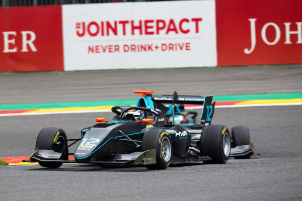 SPA-FRANCORCHAMPS, BELGIUM - SEPTEMBER 01: Keyvan Andres (IRN, HWA RACELAB) during the Spa-Francorchamps at Spa-Francorchamps on September 01, 2019 in Spa-Francorchamps, Belgium. (Photo by Joe Portlock / LAT Images / FIA F3 Championship)
