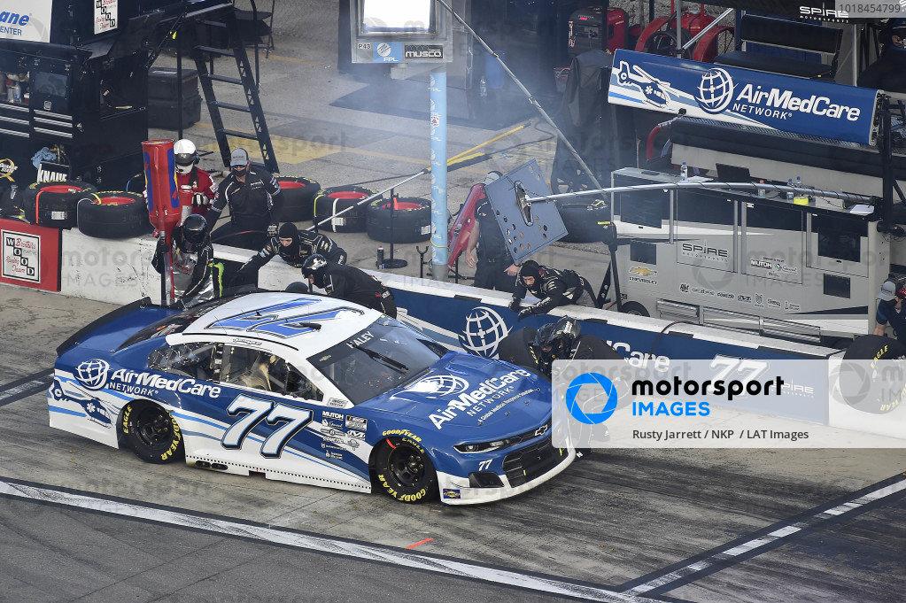 #77: Justin Haley, Spire Motorsports, Chevrolet Camaro