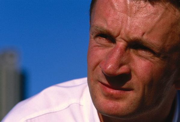 2002 Australian Grand PrixMelbourne Park, Australia. 1st - 3rd March 2002.am portrait.Photo: lorenzo Bellanca/LAT Photographicref: 35mm Image A16