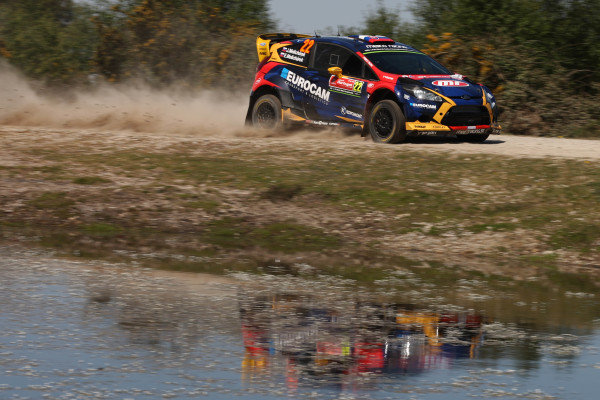 Jaroslav Melicharek (SVK) / Erik Melicharek (SVK), Ford Fiesta RS WRC at World Rally Championship, Rd5, Rally Portugal, Day One, Matosinhos, Portugal, 20 May 2016.