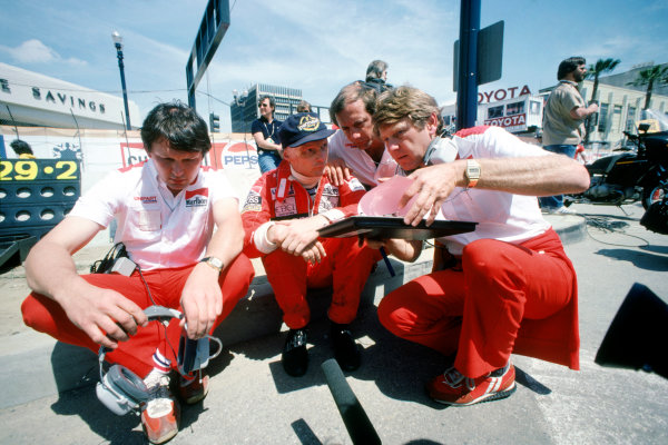 Long Beach, California, USA. 2 - 4 April 1982.