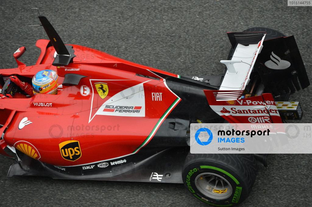 Fernando Alonso (ESP) Ferrari. Formula One Testing, Jerez, Spain, Day Four, Friday 31 January 2014.