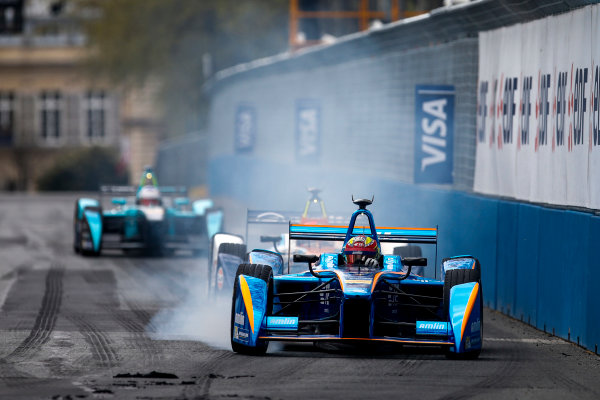 2015/2016 FIA Formula E Championship. Paris ePrix, Paris, France. Saturday 23 April 2016. Robin Frijns (NLD), Andretti - Spark SRT_01E. Photo: Glenn Dunbar/LAT/Formula E ref: Digital Image _W2Q2245