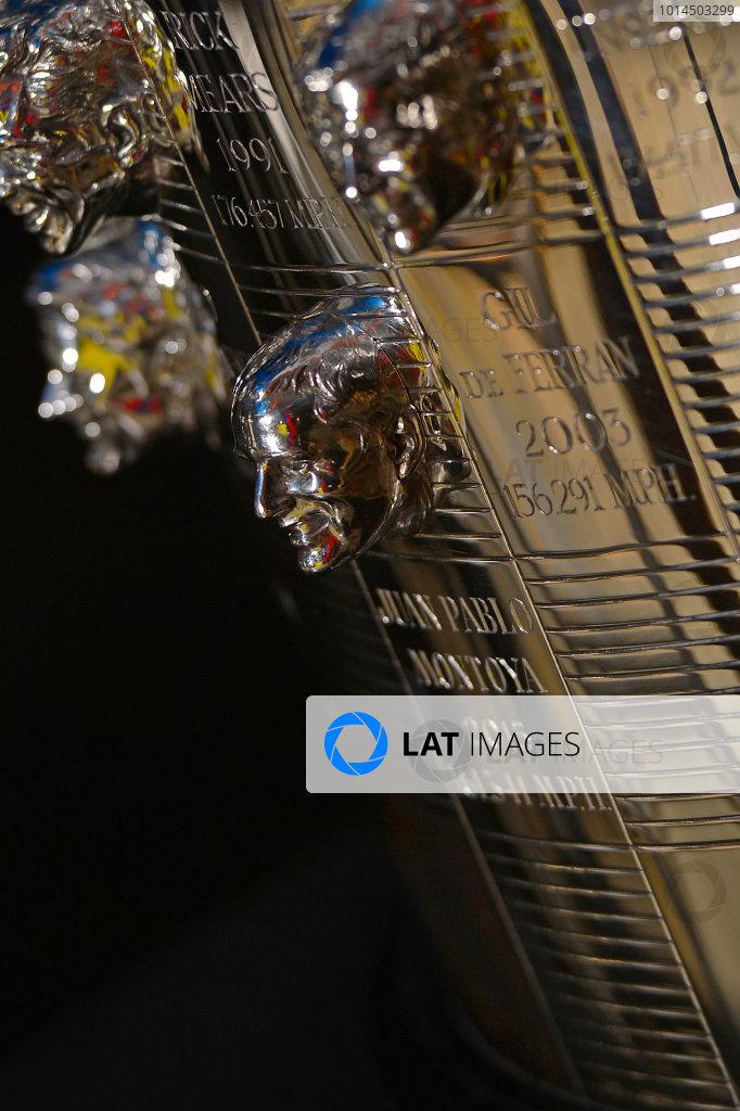 Juan Pablo Montoya Borg-Warner Trophy