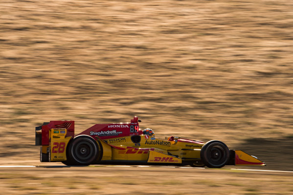 Verizon IndyCar Series GoPro Grand Prix of Sonoma Sonoma Raceway, Sonoma, CA USA Thursday 14 September 2017 Ryan Hunter-Reay, Andretti Autosport Honda World Copyright: Scott R LePage LAT Images ref: Digital Image lepage-170914-son-2808