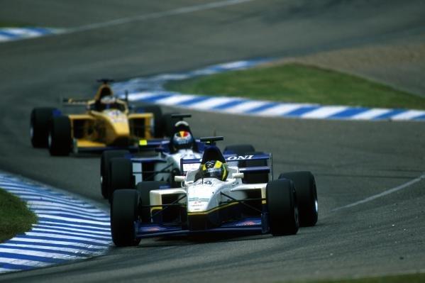 Rodrigo Sperafico (BRA) Coloni finished in eighth place.International Formula 3000 Championship Rd 9, Hockenheim, Germany, 28 July 2001.BEST IMAGE