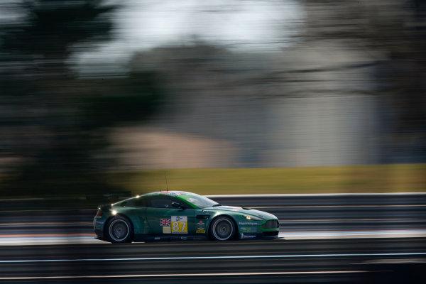 Circuit Paul Ricard, France. 8th March 2009. Paul Drayson / Jonny Cocker, (Drayson Racing) Aston Martin Vantage V8. Action. World Copyright: Drew Gibson/LAT Photographic.ref: Digital Image _Y2Z1894
