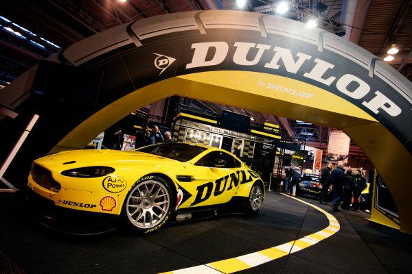 NEC, Birmingham. 14th January 2010.Aston Martin on the Dunlop Stand.World Copyright: Drew Gibson/LAT Photographicref: Digital Image _Y8P4442