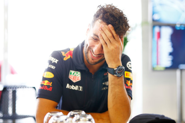 Baku City Circuit, Baku, Azerbaijan. Thursday 22 June 2017. Daniel Ricciardo, Red Bull Racing. World Copyright: Andrew Hone/LAT Images ref: Digital Image _ONZ5829