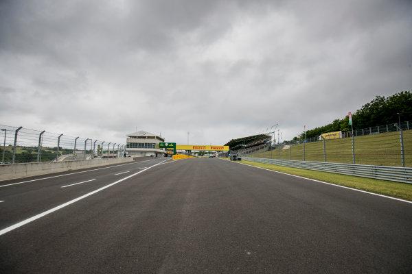 2017 FIA Formula 2 Round 7. Hungaroring, Budapest, Hungary. Thursday 27 July 2017. A view of the track. Photo: Zak Mauger/FIA Formula 2. ref: Digital Image _56I0068