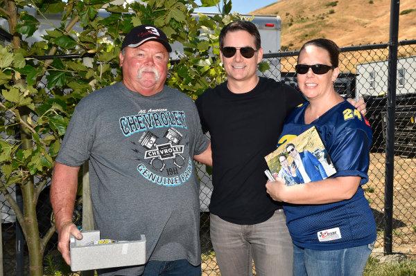 Monster Energy NASCAR Cup Series Toyota/Save Mart 350 Sonoma Raceway, Sonoma, CA USA Friday 23 June 2017 Jeff Gordon VIP M&G World Copyright: Nigel Kinrade NKP
