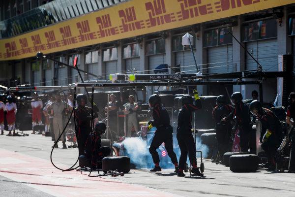 2017 FIA Formula 2 Round 5. Red Bull Ring, Spielberg, Austria. Saturday 8 July 2017. Alexander Albon (THA, ART Grand Prix).  Photo: Zak Mauger/FIA Formula 2. ref: Digital Image _56I3074