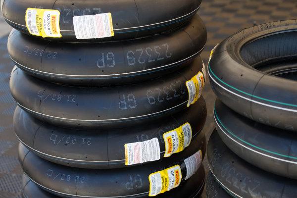 2017 Superbike World Championship - Round 8 Laguna Seca, USA. Friday 7 July 2017 Pirelli tyres World Copyright: Gold and Goose/LAT Images ref: Digital Image 682932