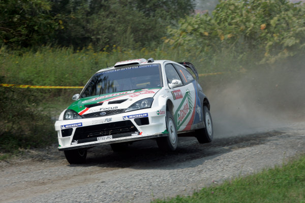 2004 FIA World Rally Champs. Round eleven, Rally Japan.2nd-5th September 2004.Francois Duval, Ford, action.World Copyright: McKlein/LAT