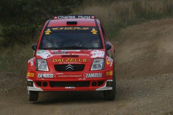 2007 British Rally Championship,Rally Yorkshire, 6th October 2007,Darren Gass/Neil Shanks Citroen C2,World Copyright: Ebrey/LAT Photographic.