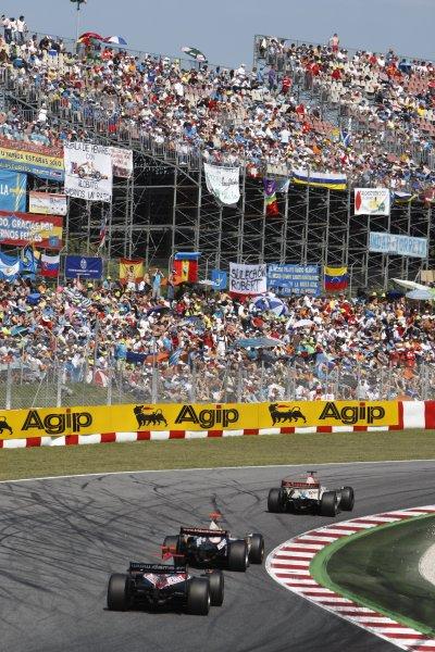 2008 GP2 Series. Round 1. Sunday Race.Barcelona, Spain. 27th April 2008GP2 Series race action. World Copyright: Andrew Ferraro/GP2 Series Media Service.ref:__H0Y2409 jpg