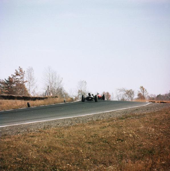 Watkins Glen, New York, USA.4-6 October 1963.The start.Ref-3/1098.World Copyright - LAT Photographic