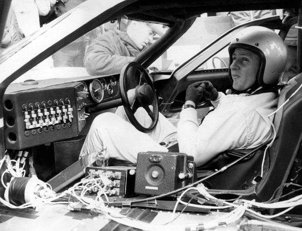 Le Mans, France.10-11 June 1967.Bruce McLaren (Ford GT40 Mk4), 4th position.World - LAT Photographic