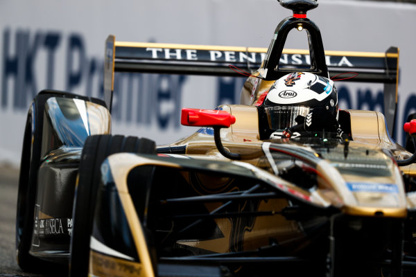 2017/2018 FIA Formula E Championship. Round 1 - Hong Kong, China. Saturday 02 December 2017.] Andre Lotterer (BEL), TECHEETAH, Renault Z.E. 17. Photo: Sam Bloxham/LAT/Formula E ref: Digital Image _J6I3961