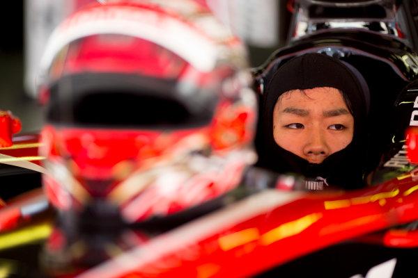 Circuit de Barcelona Catalunya, Barcelona, Spain. Tuesday 14 March 2017. Nobuharu Matsushita (JPN, ART Grand Prix). Photo: Alastair Staley/FIA Formula 2 ref: Digital Image 585A7887