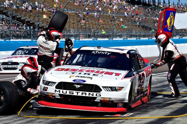 2017 NASCAR Xfinity Series DC Solar 200 Phoenix International Raceway, Avondale, AZ USA Saturday 18 March 2017 Ryan Blaney World Copyright: Rusty Jarrett/LAT Images ref: Digital Image 17PHX1rj_2335