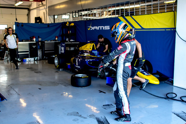 2016 GP3 Series Test 5. Yas Marina Circuit, Abu Dhabi, United Arab Emirates. Wednesday 30 November 2016. Santino Ferrucci (USA, DAMS)  Photo: Zak Mauger/GP3 Series Media Service. ref: Digital Image _L0U3280
