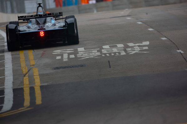 2016/2017 FIA Formula E Championship. Hong Kong ePrix, Hong Kong, China. Saturday 8 October 2016. Maro Engel (GER), Venturi, Spark-Venturi, Venturi VM200-FE-02.  Photo: Alastair Staley/LAT/Formula E ref: Digital Image 585A9281