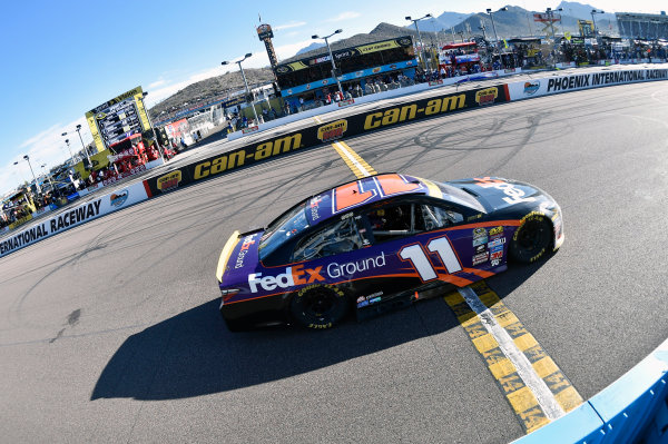 11-13 November, 2016, Avondale, Arizona USA Denny Hamlin, FedEx Ground Toyota Camry ? 2016, Nigel Kinrade LAT Photo USA