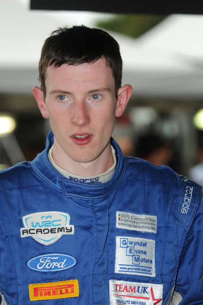Elfyn Evans (GBR). FIA World Rally Championship, Rd11, Rallye De France, Strasbourg, Alsace, France, Shakedown, Thursday 4 October 2012.