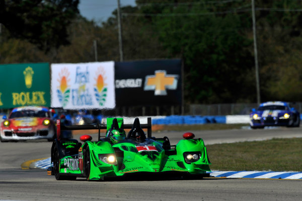 12-15 March, 2014,  Sebring, Florida USA #1, Honda, HPD ARX-03b, P, Scott Sharp, Ryan Dalziel, David Brabham ©2014 Scott R LePage  LAT Photo USA