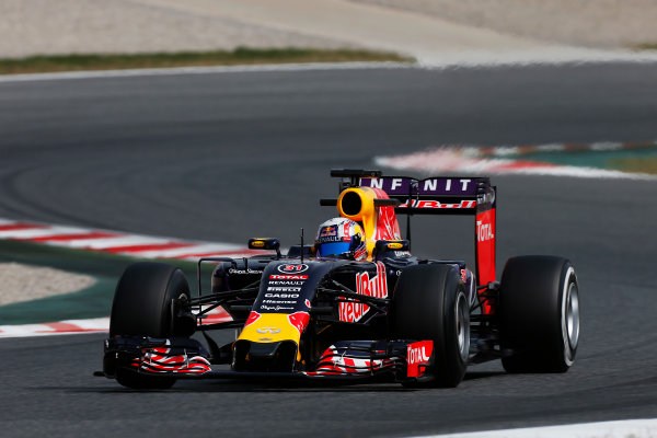 Circuit de Catalunya, Barcelona, Spain. Wednesday 13 May 2015. Pierre Gasly, Red Bull Racing RB11 Renault.  World Copyright: Alastair Staley/LAT Photographic. ref: Digital Image _79P5062