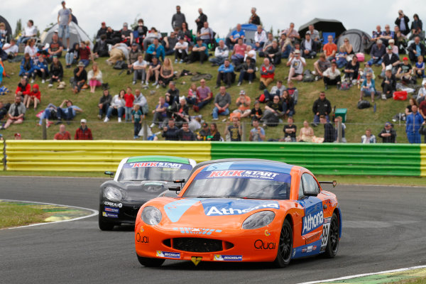 2015 Ginetta GT4 Supercup, Croft, 27th-28th June 2015,  Rowan Bailey (GBR) JHR Ginetta Junior  World copyright. Jakob Ebrey/LAT Photographic