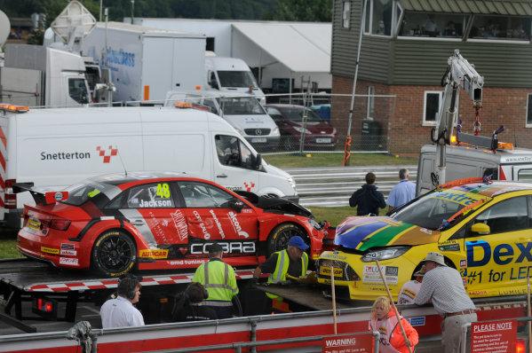 2016 British Touring Car Championship, Snetterton, 30th-31st July 2016, Ollie Jackson (GBR) AmD Tuning Audi S3  World copyright. Jakob Ebrey/LAT Photographic