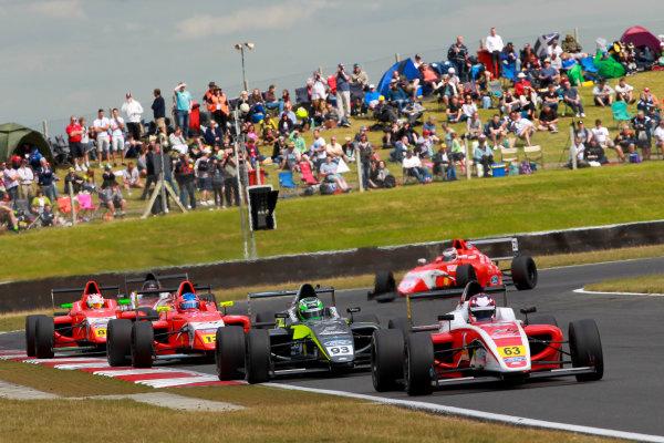 2016 British Formula 4 Championship, Snetterton, Norfolk. 29th - 31st July 2016. Nicolai Kjaergaard (DK) Fortec Motorsports Ford British F4. World Copyright: Ebrey / LAT Photographic.