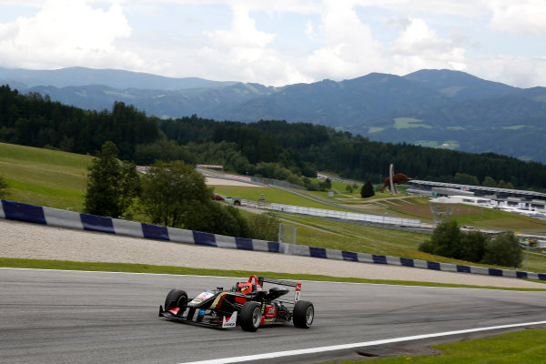 2014 FIA European F3 Championship Round 8 - Red Bull Ring, Austria. 31st July - 2nd August 2014 Esteban Ocon (FRA) Prema Powerteam Dallara F312 ? Mercedes World Copyright: XPB Images / LAT Photographic  ref: Digital Image 3250789_HiRes