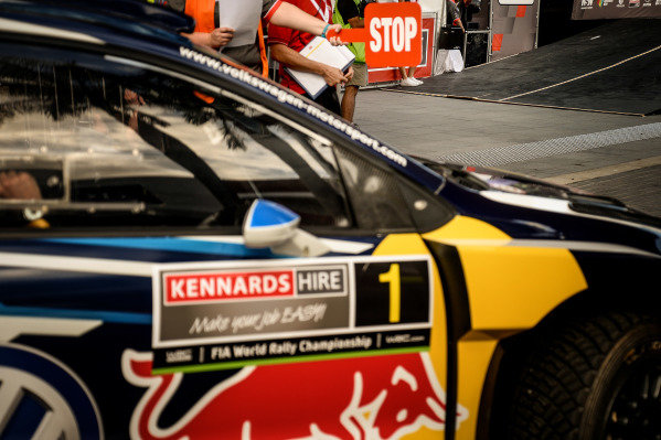 Sebastien Ogier (FRA) / Julien Ingrassia (FRA), Volkswagen Motorsport Polo R WRC at FIA World Rally Championship, Rd13, Rally Australia, Preparations and Shakedown, Coffs Harbour, New South Wales, Australia, 17 November 2016.