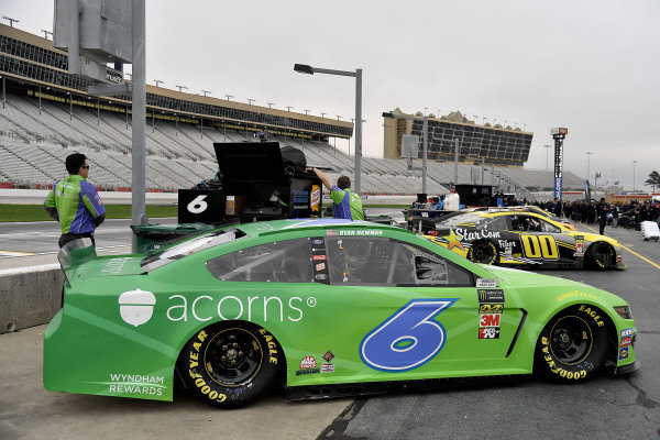#6: Ryan Newman, Roush Fenway Racing, Ford Mustang Acorns