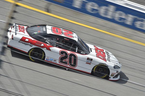 #20: Harrison Burton, Joe Gibbs Racing, Toyota Supra DEX Imaging