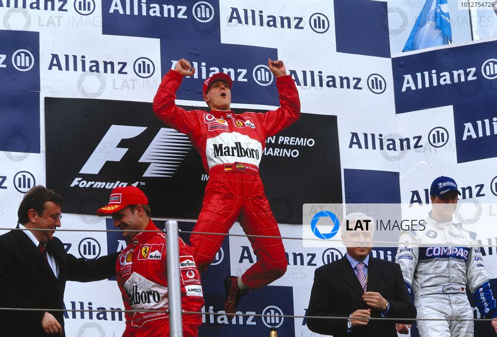 2002 San Marino Grand Prix.